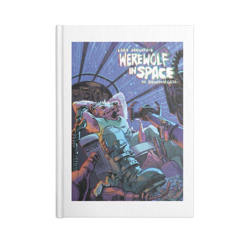 Lars Breaxface Cover - Jonas Goonface Accessories Blank Journal Notebook by Spaceboy Books LLC's Artist Shop