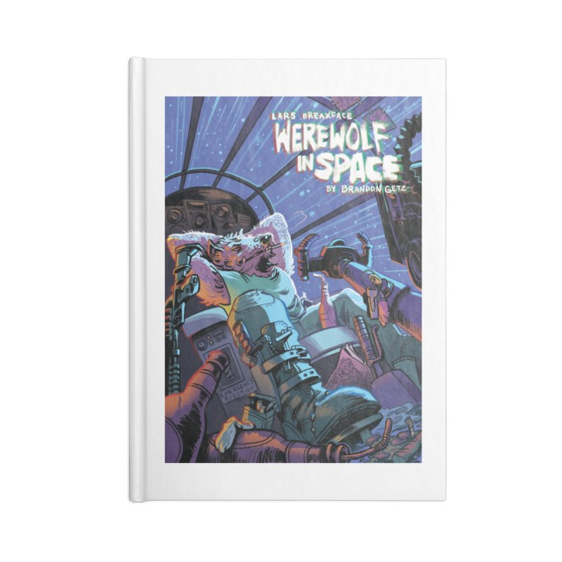 Lars Breaxface Cover - Jonas Goonface Accessories Lined Journal Notebook by Spaceboy Books LLC's Artist Shop