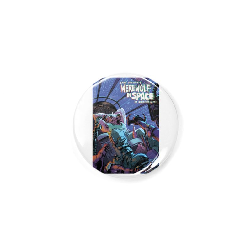 Lars Breaxface Cover - Jonas Goonface Accessories Button by Spaceboy Books LLC's Artist Shop