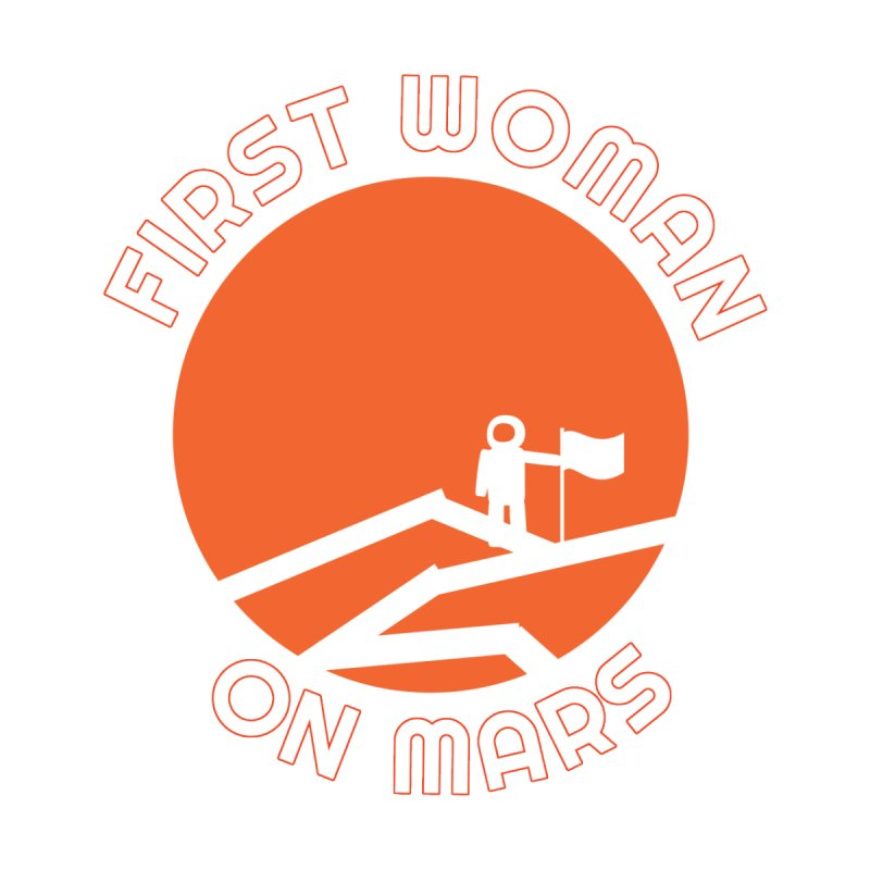 First Woman on Mars Men's T-Shirt by Spaceboy Books LLC's Artist Shop