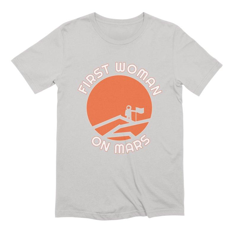First Woman on Mars Men's Extra Soft T-Shirt by Spaceboy Books LLC's Artist Shop