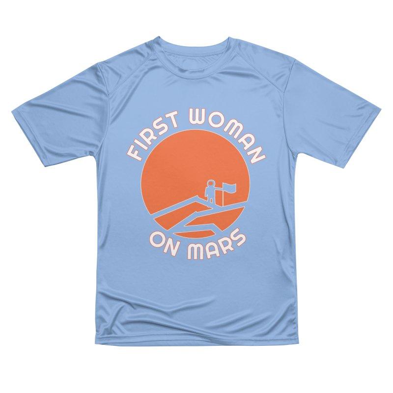 First Woman on Mars Men's T-Shirt by Spaceboy Books LLC's Artist Shop