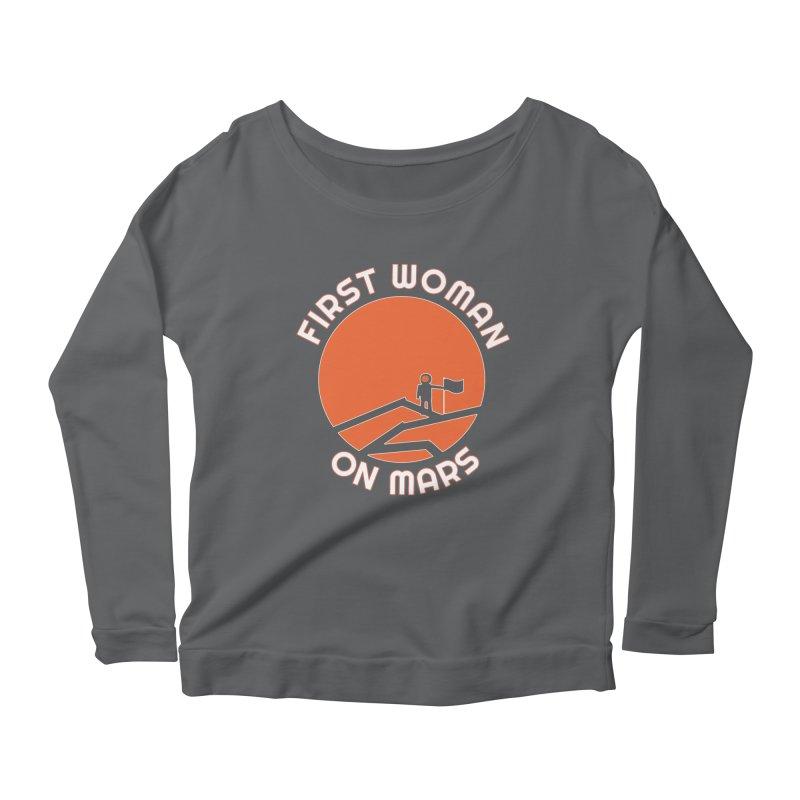 First Woman on Mars Women's Longsleeve T-Shirt by Spaceboy Books LLC's Artist Shop