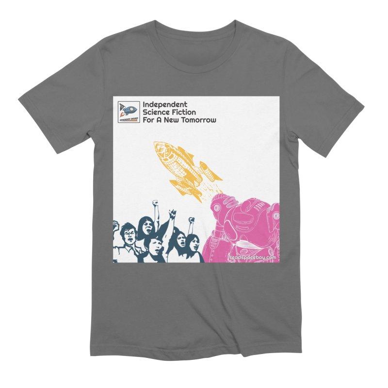 Spaceboy Indie Album Cover Men's T-Shirt by Spaceboy Books LLC's Artist Shop