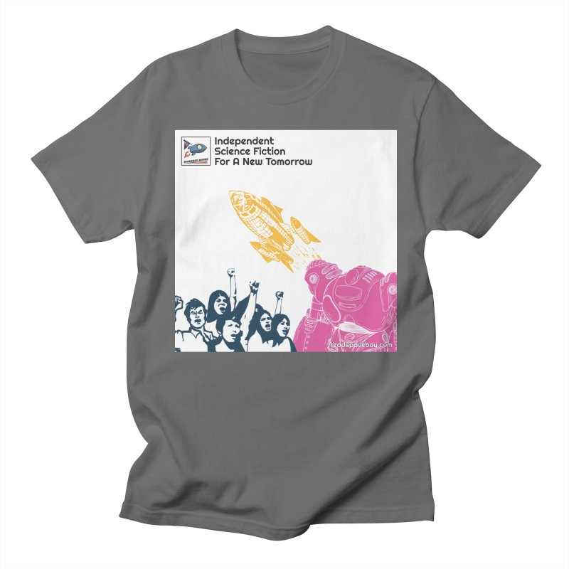 Spaceboy Indie Album Cover Men's T-Shirt by Spaceboy Books LLC's Artist Shop