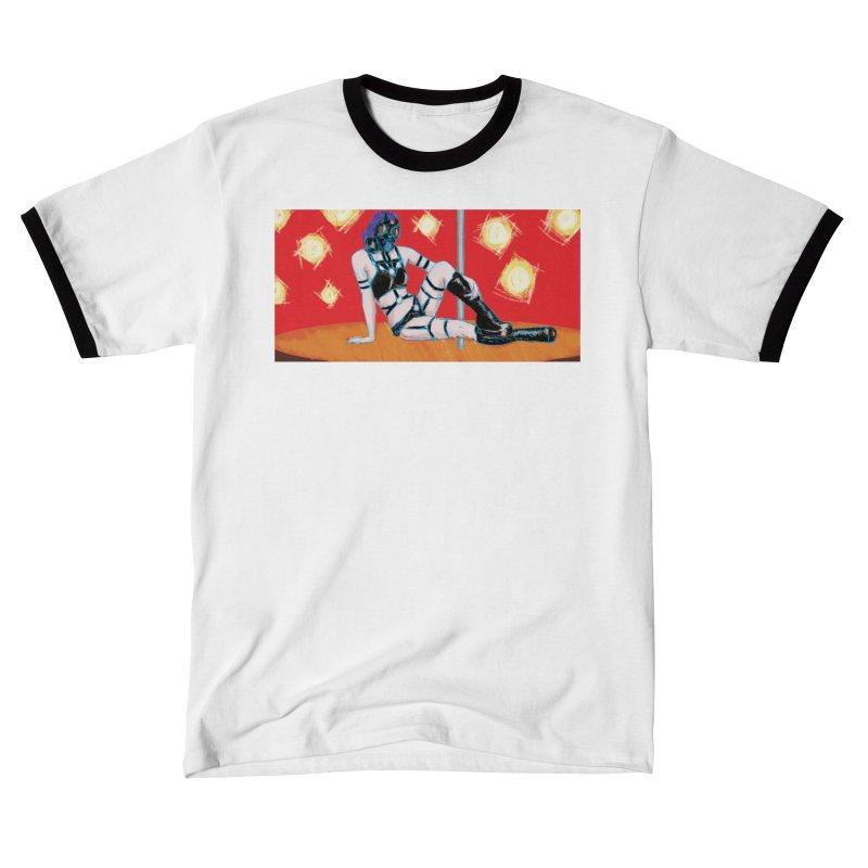 RESPIRATOR (Lonnie M F Allen Art) Men's T-Shirt by Spaceboy Books LLC's Artist Shop