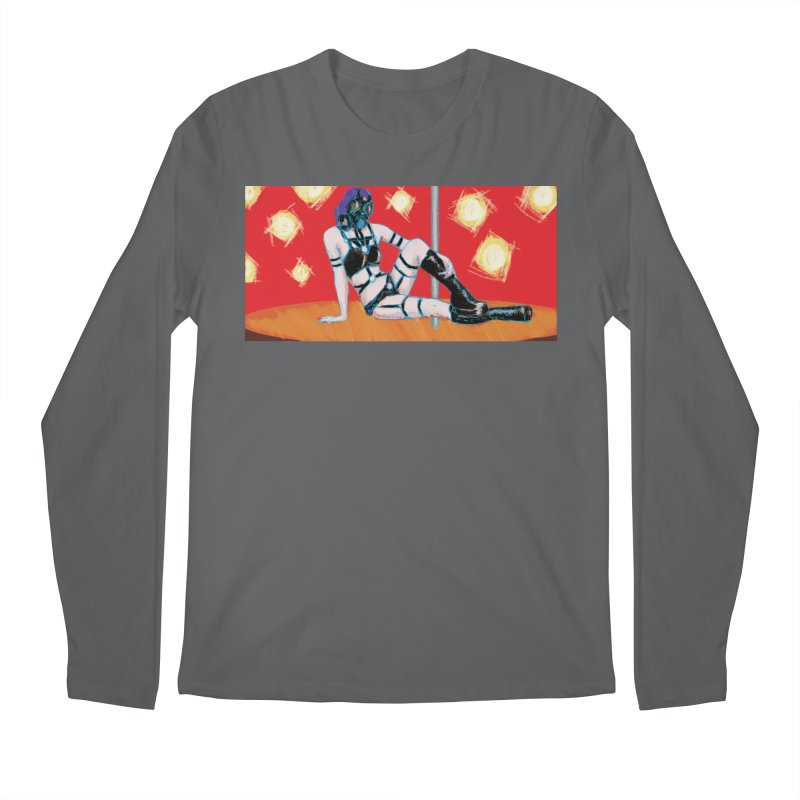 RESPIRATOR (Lonnie M F Allen Art) Men's Longsleeve T-Shirt by Spaceboy Books LLC's Artist Shop
