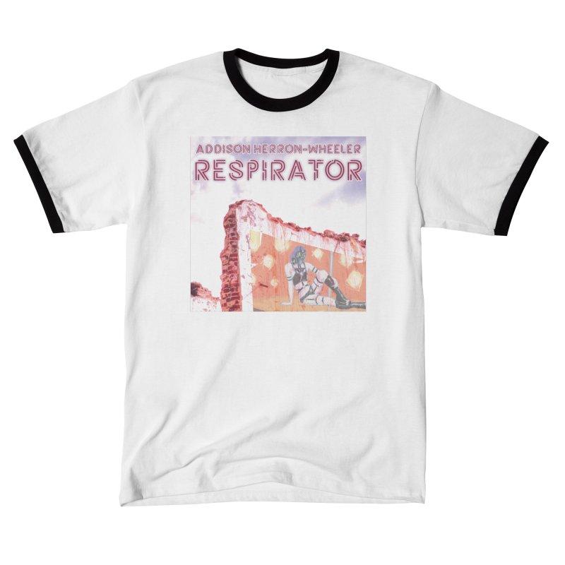 RESPIRATOR Cover Art Men's T-Shirt by Spaceboy Books LLC's Artist Shop