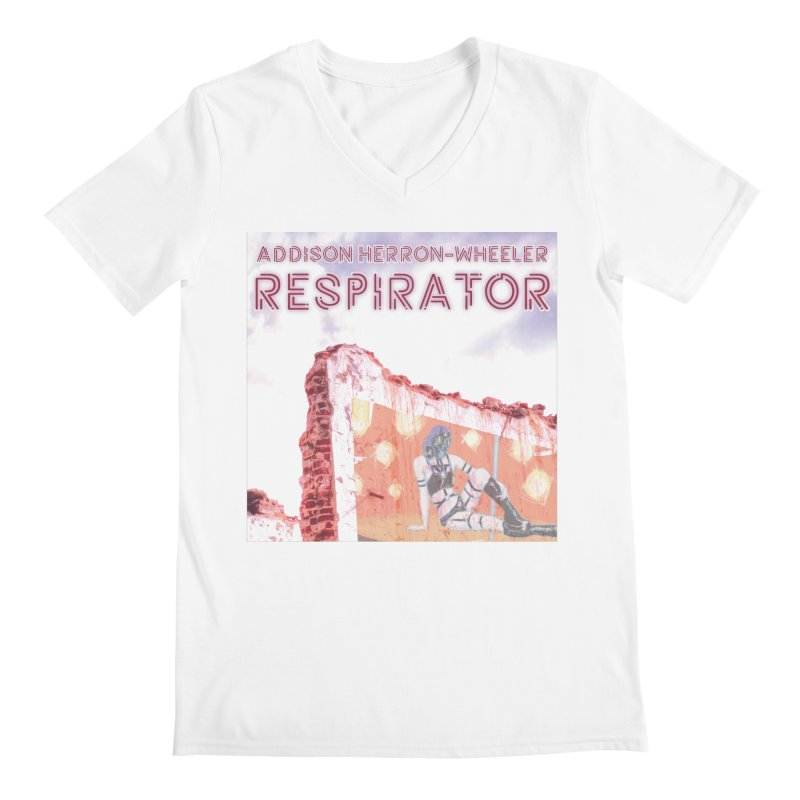 RESPIRATOR Cover Art Men's V-Neck by Spaceboy Books LLC's Artist Shop