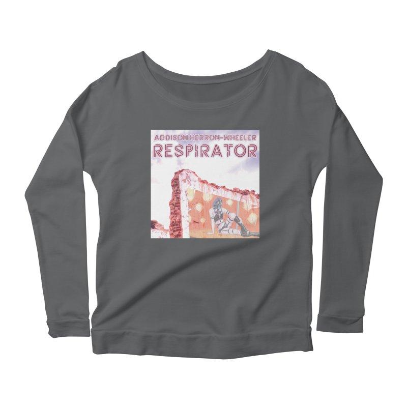 RESPIRATOR Cover Art Women's Longsleeve T-Shirt by Spaceboy Books LLC's Artist Shop