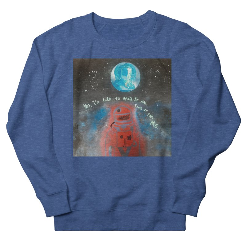 Space Art by Shaunn Men's Sweatshirt by Spaceboy Books LLC's Artist Shop