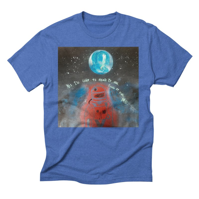 Space Art by Shaunn Men's T-Shirt by Spaceboy Books LLC's Artist Shop