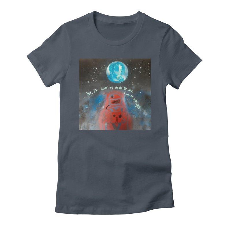 Space Art by Shaunn Women's T-Shirt by Spaceboy Books LLC's Artist Shop
