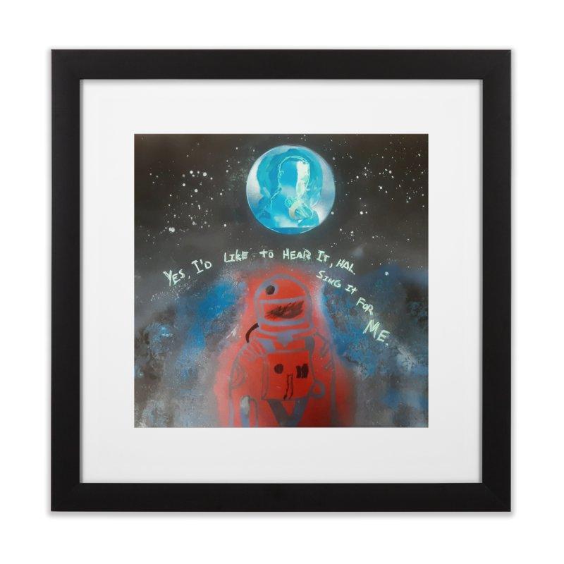 Space Art by Shaunn Home Framed Fine Art Print by Spaceboy Books LLC's Artist Shop
