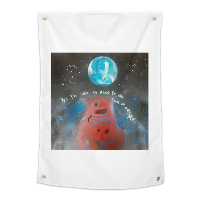 Space Art by Shaunn Home Tapestry by Spaceboy Books LLC's Artist Shop