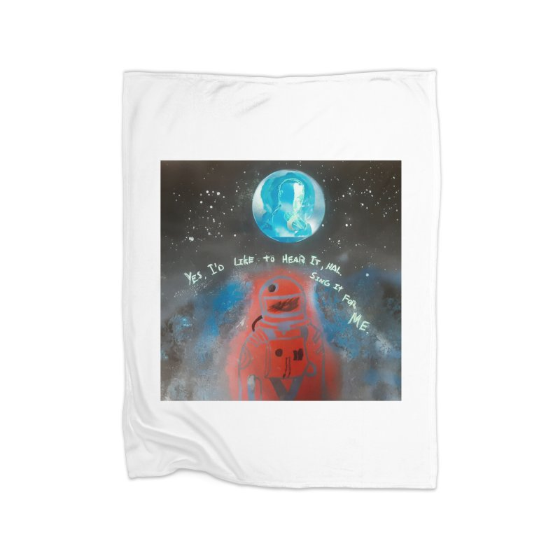 Space Art by Shaunn Home Blanket by Spaceboy Books LLC's Artist Shop