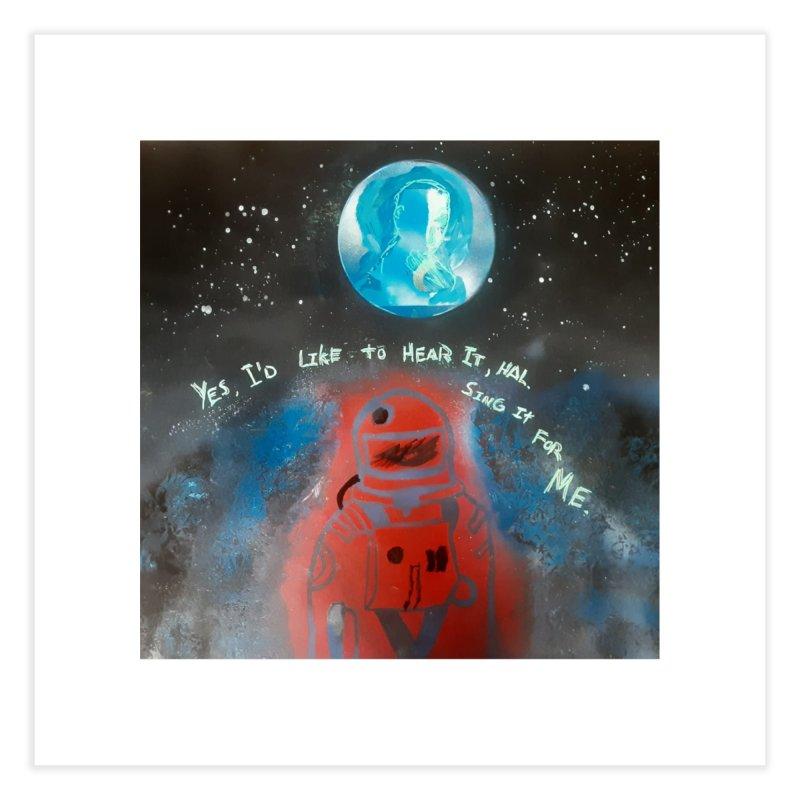 Space Art by Shaunn Home Fine Art Print by Spaceboy Books LLC's Artist Shop