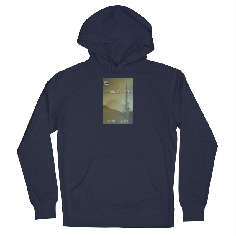 Seeking Shelter Cover Men's Pullover Hoody by Spaceboy Books LLC's Artist Shop
