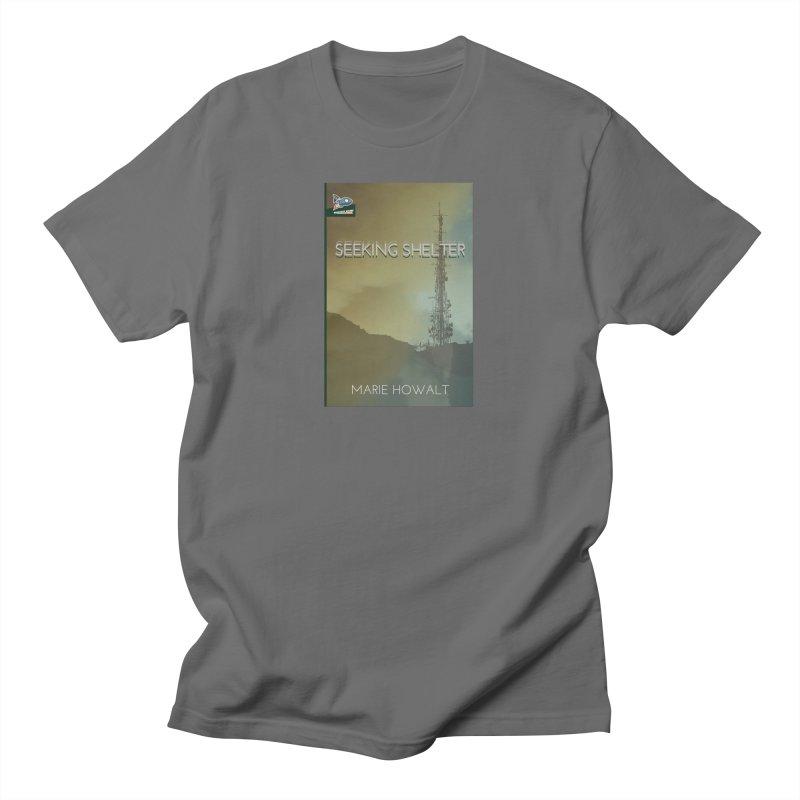 Seeking Shelter Cover Men's T-Shirt by Spaceboy Books LLC's Artist Shop