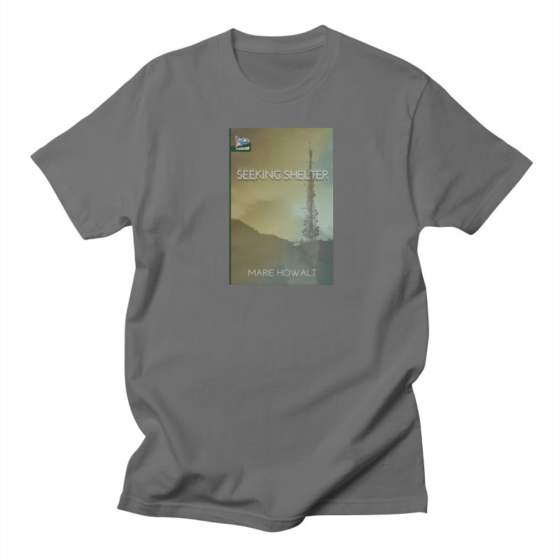 Seeking Shelter Cover Men's T-Shirt by Spaceboy Books LLC's Artist Shop