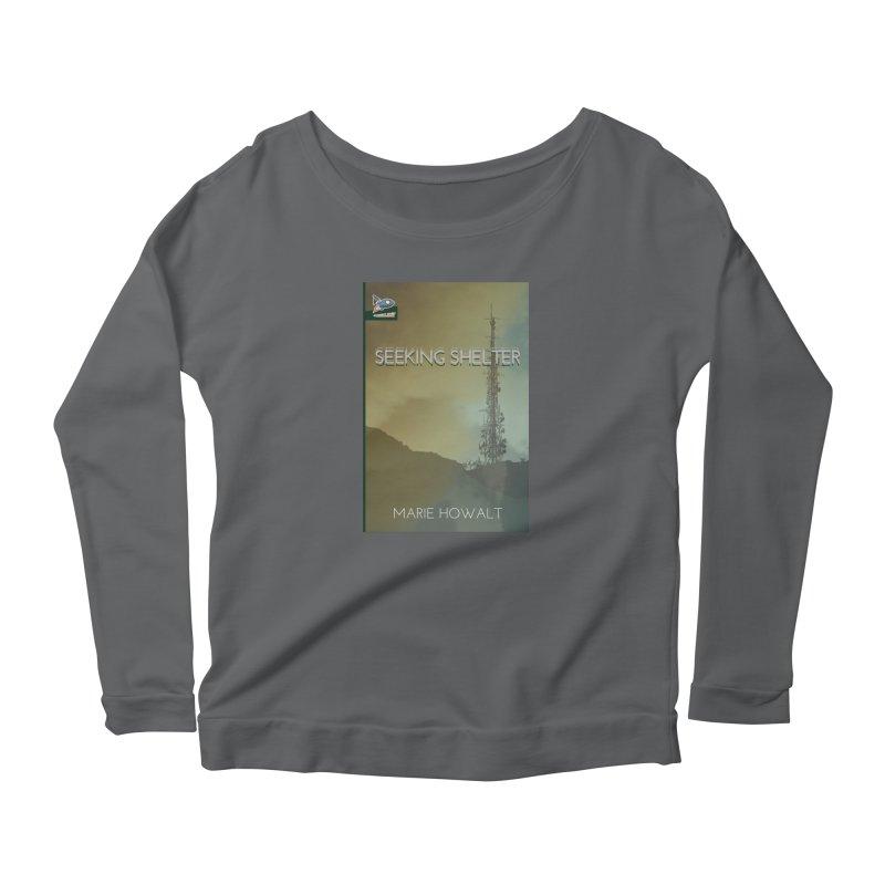 Seeking Shelter Cover Women's Longsleeve T-Shirt by Spaceboy Books LLC's Artist Shop