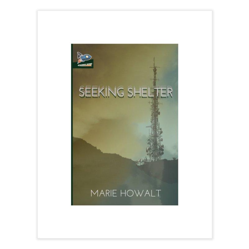 Seeking Shelter Cover Home Fine Art Print by Spaceboy Books LLC's Artist Shop