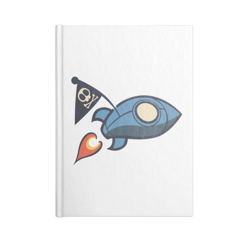 Spaceboy Books Rocket Accessories Blank Journal Notebook by Spaceboy Books LLC's Artist Shop