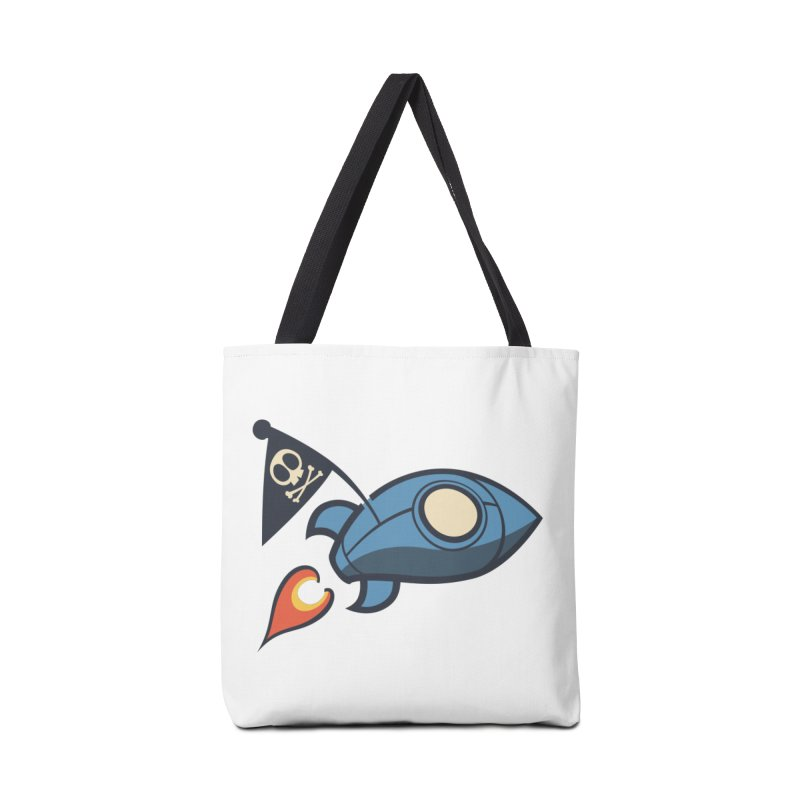 Spaceboy Books Rocket Accessories Tote Bag Bag by Spaceboy Books LLC's Artist Shop