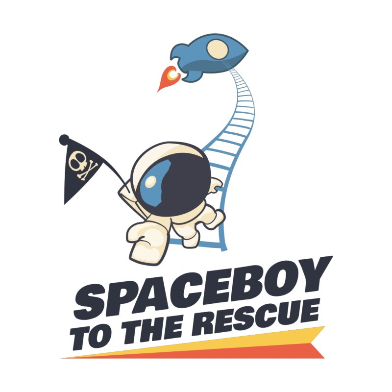 Spaceboy to the Rescue! by Spaceboy Books LLC's Artist Shop