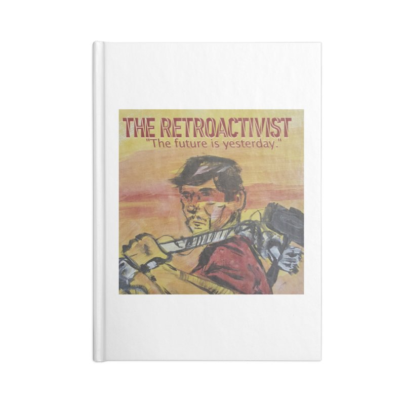 The Retroactivist Cover Accessories Lined Journal Notebook by Spaceboy Books LLC's Artist Shop