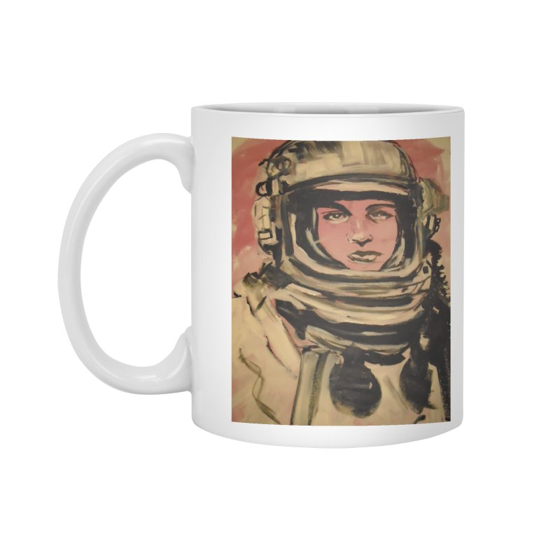 The Necronaut Cover Accessories Standard Mug by Spaceboy Books LLC's Artist Shop