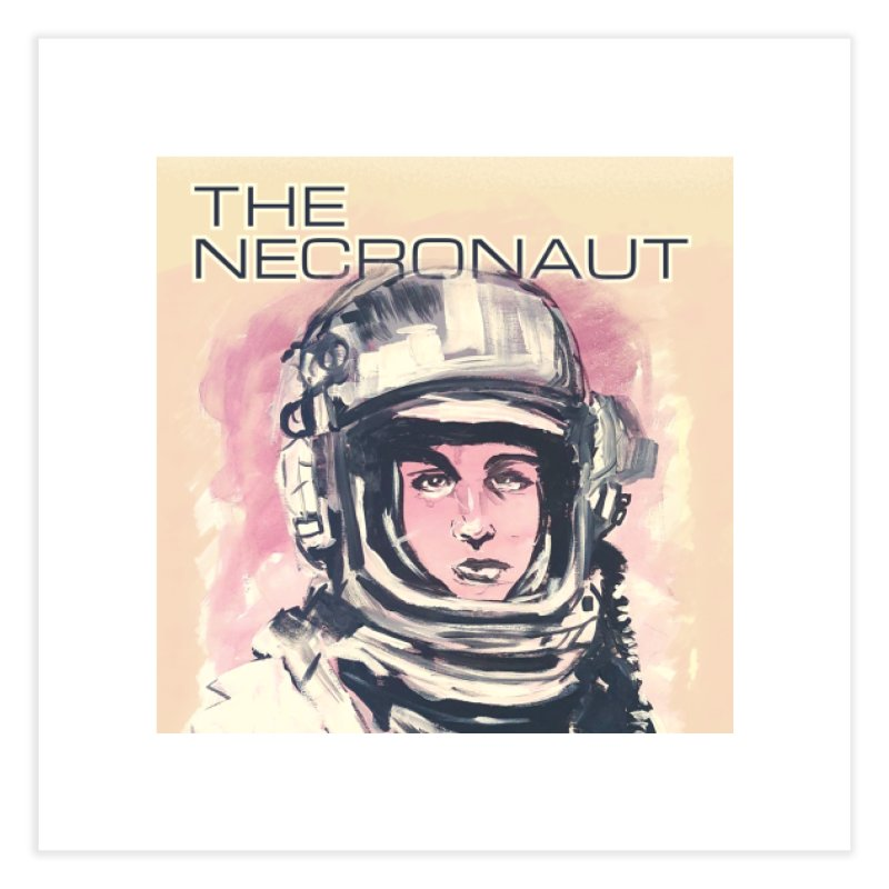 The Necronaut Cover Home Fine Art Print by Spaceboy Books LLC's Artist Shop