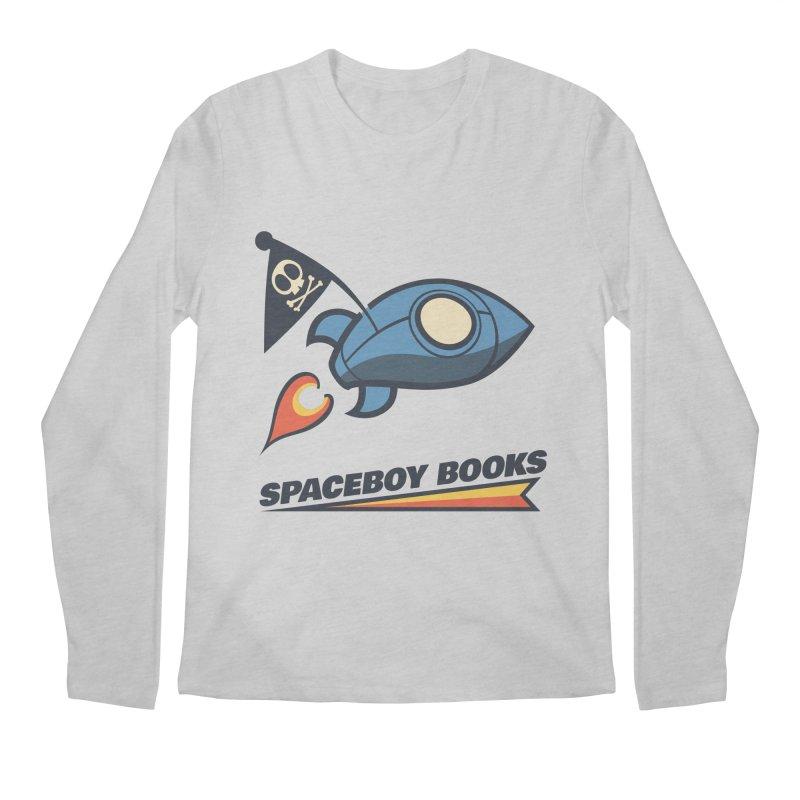 Spaceboy Books Brandmark Men's Longsleeve T-Shirt by Spaceboy Books LLC's Artist Shop