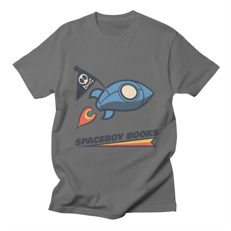 Spaceboy Books Brandmark Men's T-Shirt by Spaceboy Books LLC's Artist Shop