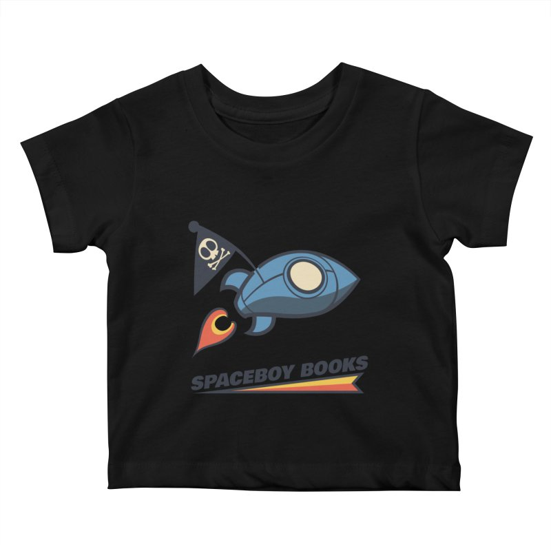 Spaceboy Books Brandmark Kids Baby T-Shirt by Spaceboy Books LLC's Artist Shop