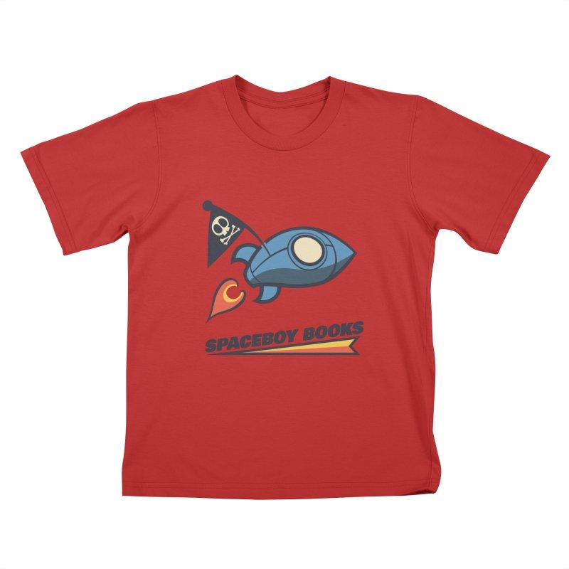 Spaceboy Books Brandmark Kids T-Shirt by Spaceboy Books LLC's Artist Shop