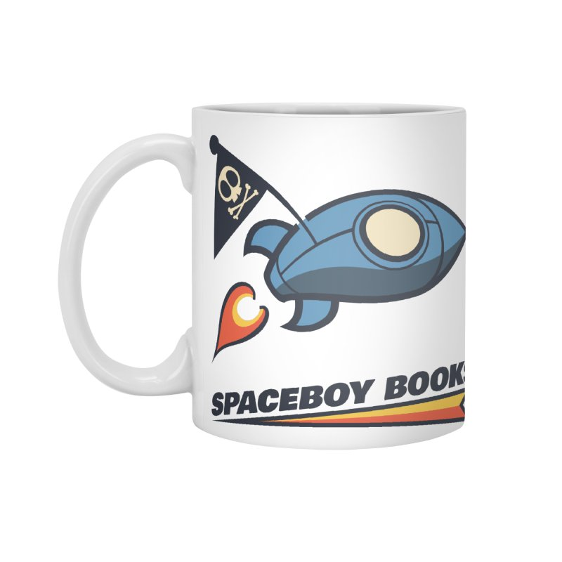 Spaceboy Books Brandmark Accessories Standard Mug by Spaceboy Books LLC's Artist Shop