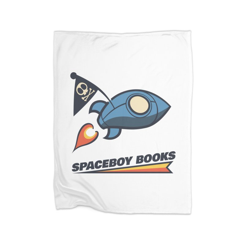 Spaceboy Books Brandmark Home Fleece Blanket Blanket by Spaceboy Books LLC's Artist Shop