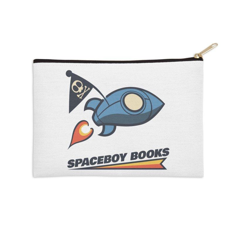 Spaceboy Books Brandmark Accessories Zip Pouch by Spaceboy Books LLC's Artist Shop