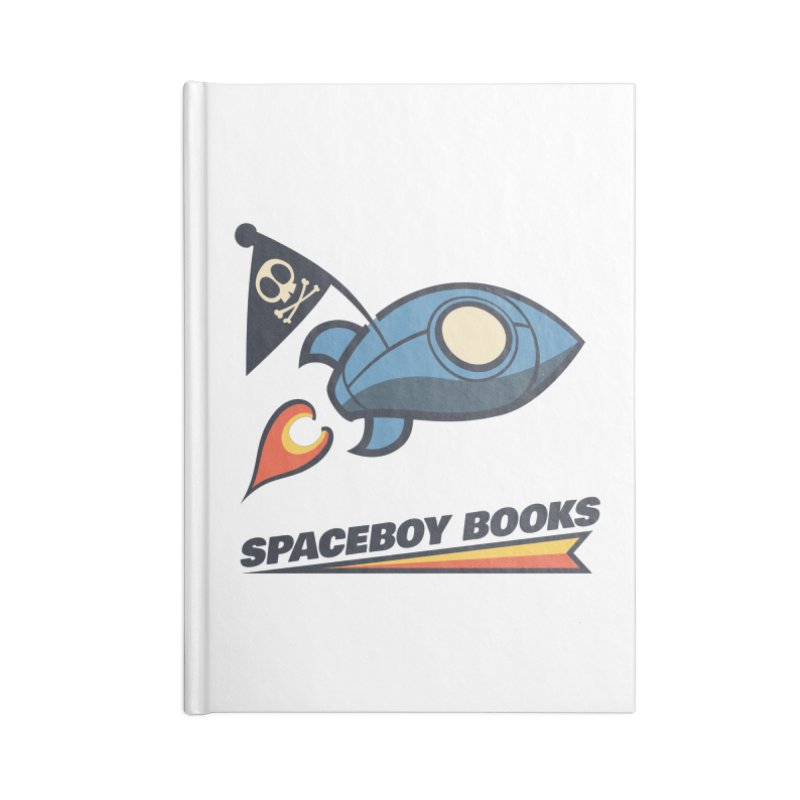 Spaceboy Books Brandmark Accessories Blank Journal Notebook by Spaceboy Books LLC's Artist Shop