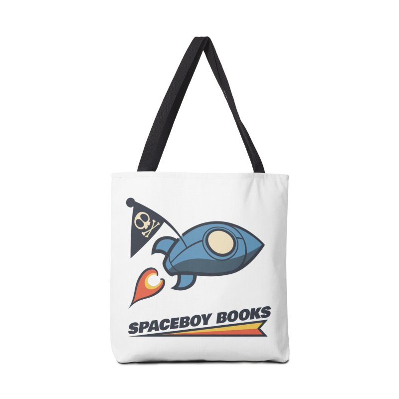 Spaceboy Books Brandmark Accessories Tote Bag Bag by Spaceboy Books LLC's Artist Shop