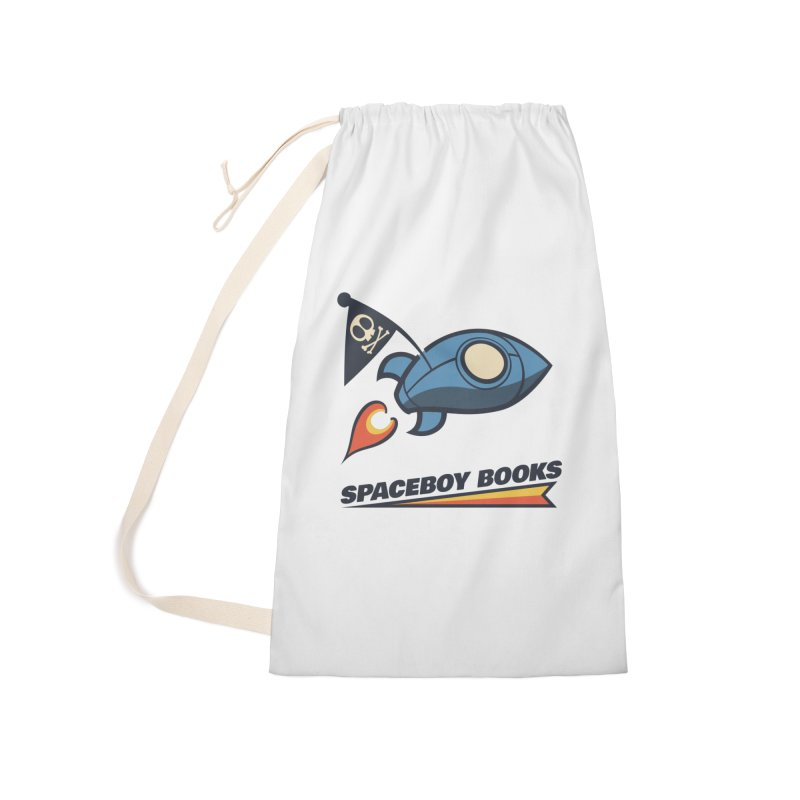 Spaceboy Books Brandmark Accessories Laundry Bag Bag by Spaceboy Books LLC's Artist Shop