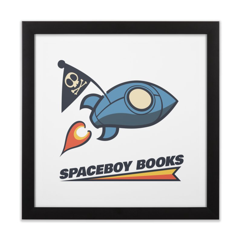 Spaceboy Books Brandmark Home Framed Fine Art Print by Spaceboy Books LLC's Artist Shop