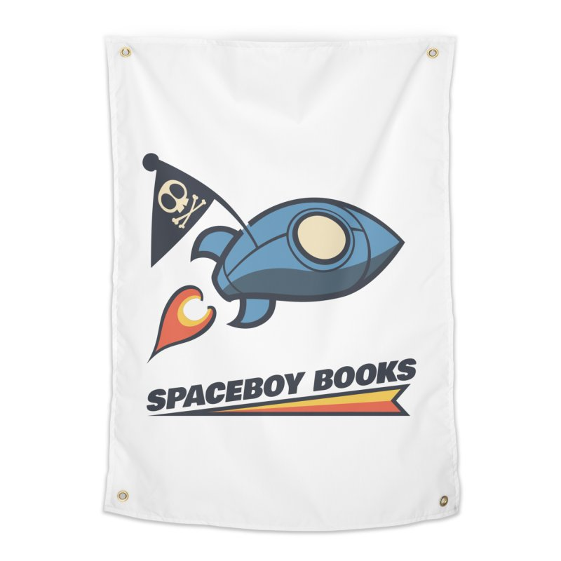 Spaceboy Books Brandmark Home Tapestry by Spaceboy Books LLC's Artist Shop
