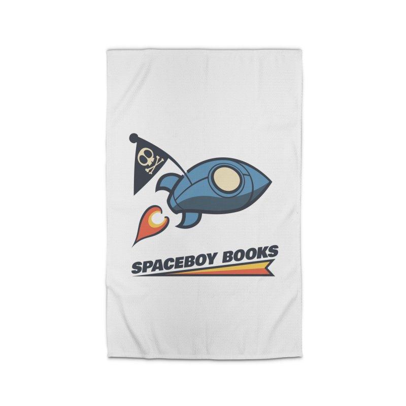 Spaceboy Books Brandmark Home Rug by Spaceboy Books LLC's Artist Shop