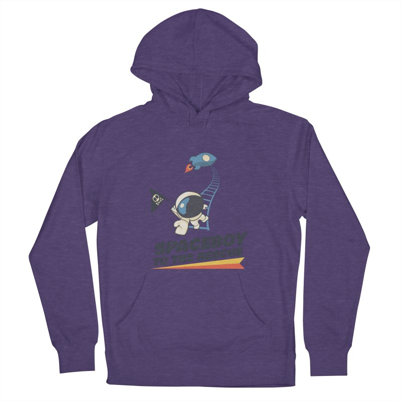 To the Rescue - Small Women's French Terry Pullover Hoody by Spaceboy Books LLC's Artist Shop