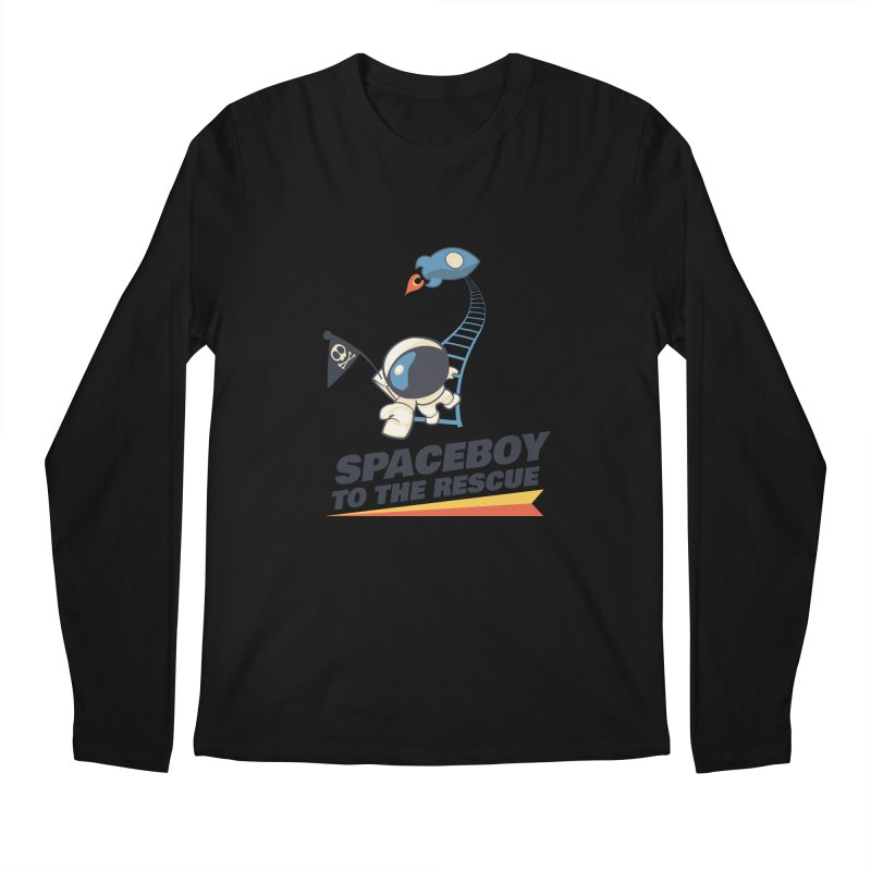 To the Rescue - Small Men's Regular Longsleeve T-Shirt by Spaceboy Books LLC's Artist Shop