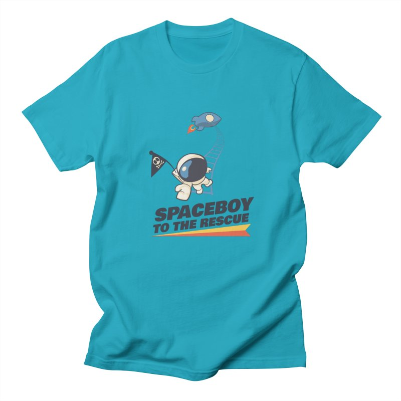 To the Rescue - Small Women's Regular Unisex T-Shirt by Spaceboy Books LLC's Artist Shop