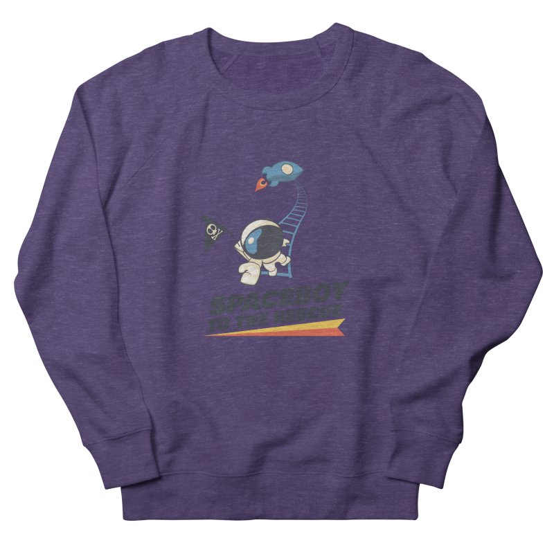 To the Rescue - Small Women's French Terry Sweatshirt by Spaceboy Books LLC's Artist Shop
