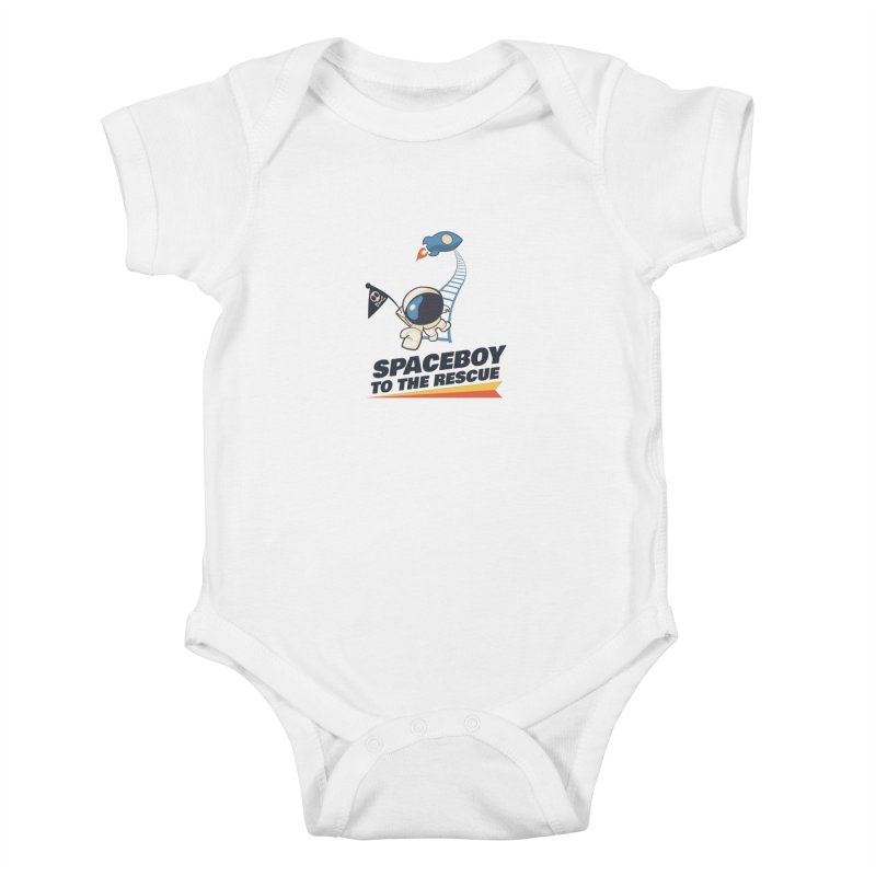 To the Rescue - Small Kids Baby Bodysuit by Spaceboy Books LLC's Artist Shop